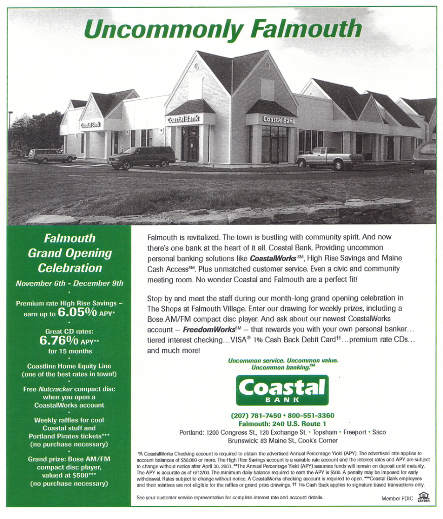 Coastal Band Ad