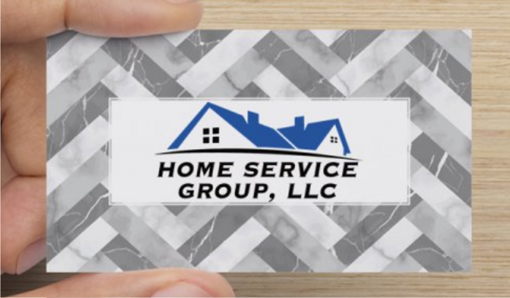 Home Service Group, LLC Business Card
